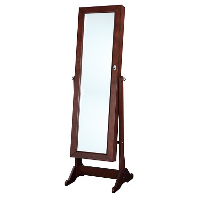 Ruby Cheval Mirror Brown - Linon