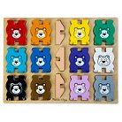 Melissa & Doug Stacking Chunky - Bears