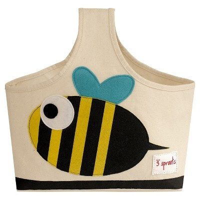 3 Sprouts Fabric Storage Caddy - Bee