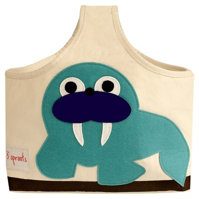 3 Sprouts Fabric Storage Caddy - Walrus