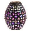 Royal Mosaic Firebowl - Purple