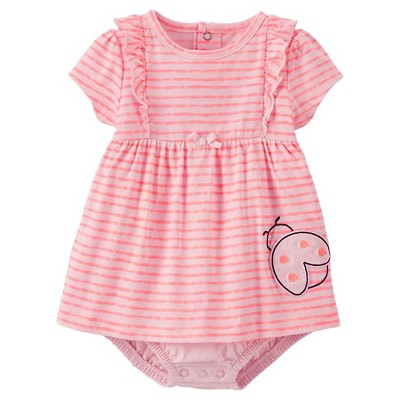 Just One You™Made by Carter's® Newborn Girls' Ladybug Bodysuit Dress NB