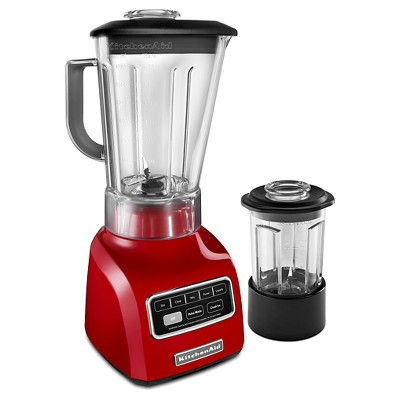 KitchenAid® 5-Speed Blender with Die Cast Base and 56-oz. BPA-Free Pitcher and 24-oz. BPA-Free