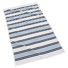Kassatex Spiaggia Marina Organic Cotton Beach Towel -Navy Blue