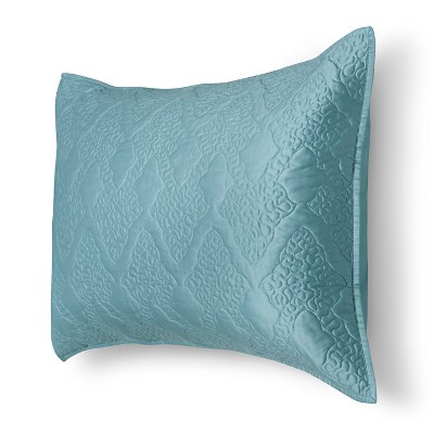 Vermicelli Sham King Turquoise - Fieldcrest™
