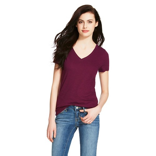 Mosimo: Women's Vee T-Shirt - Mossimo Supply Co. (Juniors')