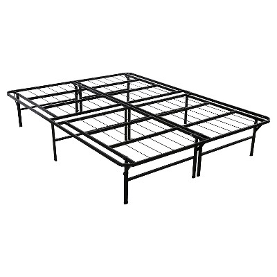Sleep Revolution Deluxe Platform Bed Frame - Black (King)