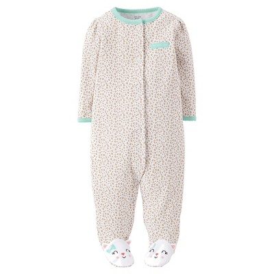 Just One You™Made by Carter's® Baby Girls' Kitty Sleep N' Play 6M