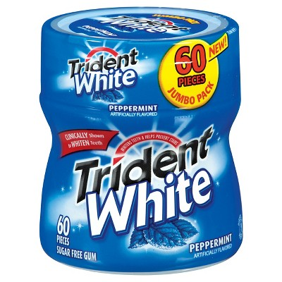 60 ct Trident Peppermint Chewing Gum
