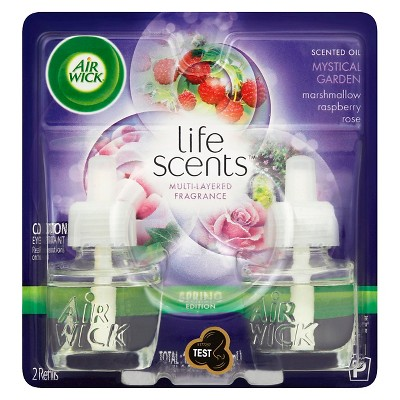 Airwick Scented Oil Life Scents Mystical Garden Twin Pack 1.34FLOZ