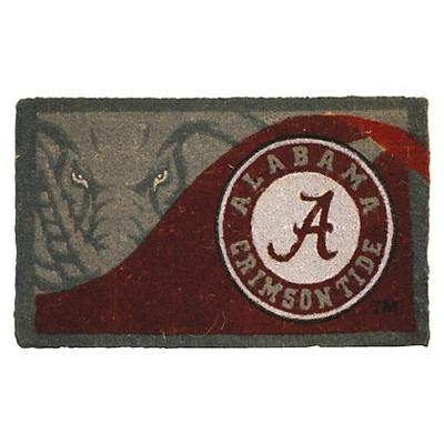 "Alabama Crimson Tide Evergreen Team Sports America Welcome Mat - Multicolor (18"" x 30"")"