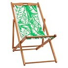 Lilly Pulitzer for Target Teak Beach Chair - Boom Boom