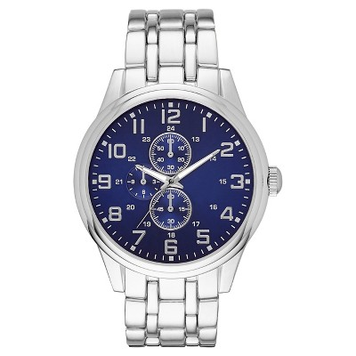 ME Wristwatch Classic Metals SIL BLU Alloy