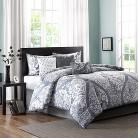 Adela 7 Piece Printed Comforter Set