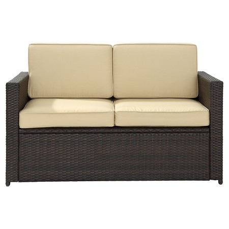 Crosley Palm Harbor Outdoor Wicker Loveseat Target
