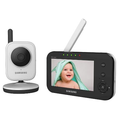samsung 4 3 simpleview digital video baby monitor target. Black Bedroom Furniture Sets. Home Design Ideas