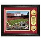 "Arrowhead Stadium The Highland Mint  Gold Coin Photomint Framed Wallposter Print - Multicolor(13"" x 16"")"