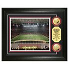 """Georgia Dome The Highland Mint Gold Coin Photomint Framed Wallposter Print - Multicolor (13"""" x 16"""")"""