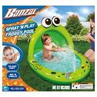 Banzai Spray 'N Play Frog Kiddie Pool