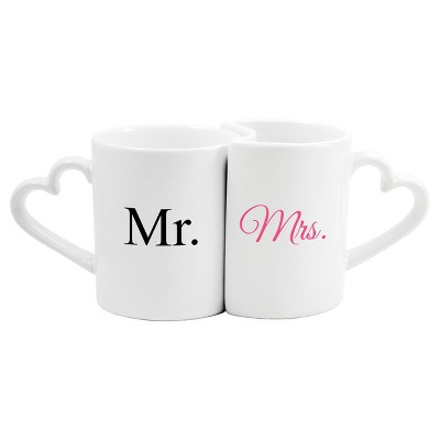 Mr. & Mrs. Wedding Coffee Mug Set - 2 ct.