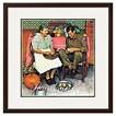 """Art.com """"Home for Thanksgiving"""" -Framed Print"""