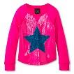 Girls' Sequined Fashion Sweatshirt