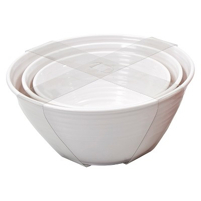 Threshold™ Nested Serving Bowls Set of 3 - White