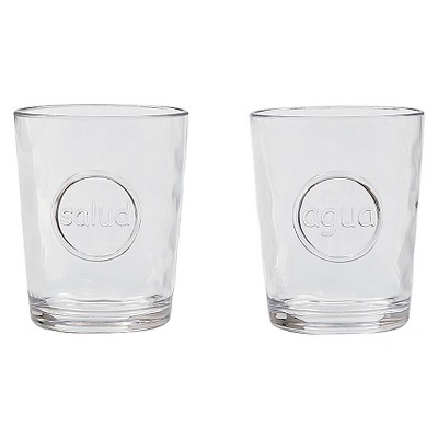 Threshold™ Salud and Agua Glasses Set of 4