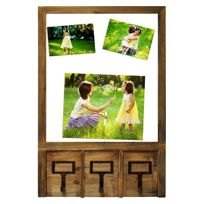 "8""x10"" Multi-Image Float Frame with Hooks- Threshold™"