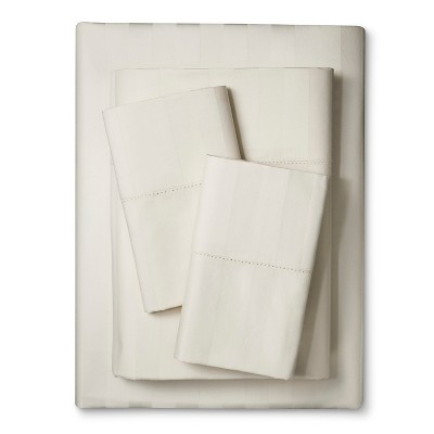 Kassatex 400TC Sheet Set - Ivory (Queen)