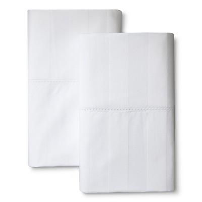 Pillowcase Set 400 Thread Count White (King) - Kassatex