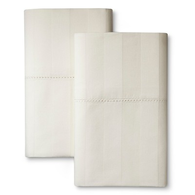 Kassatex 400TC Pillow Case - Ivory (Queen)