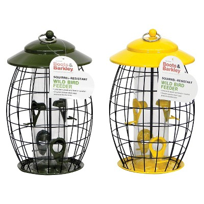 Squirrel Resistant Tube Bird Feeder Colors May Vary - Boots & Barkley™