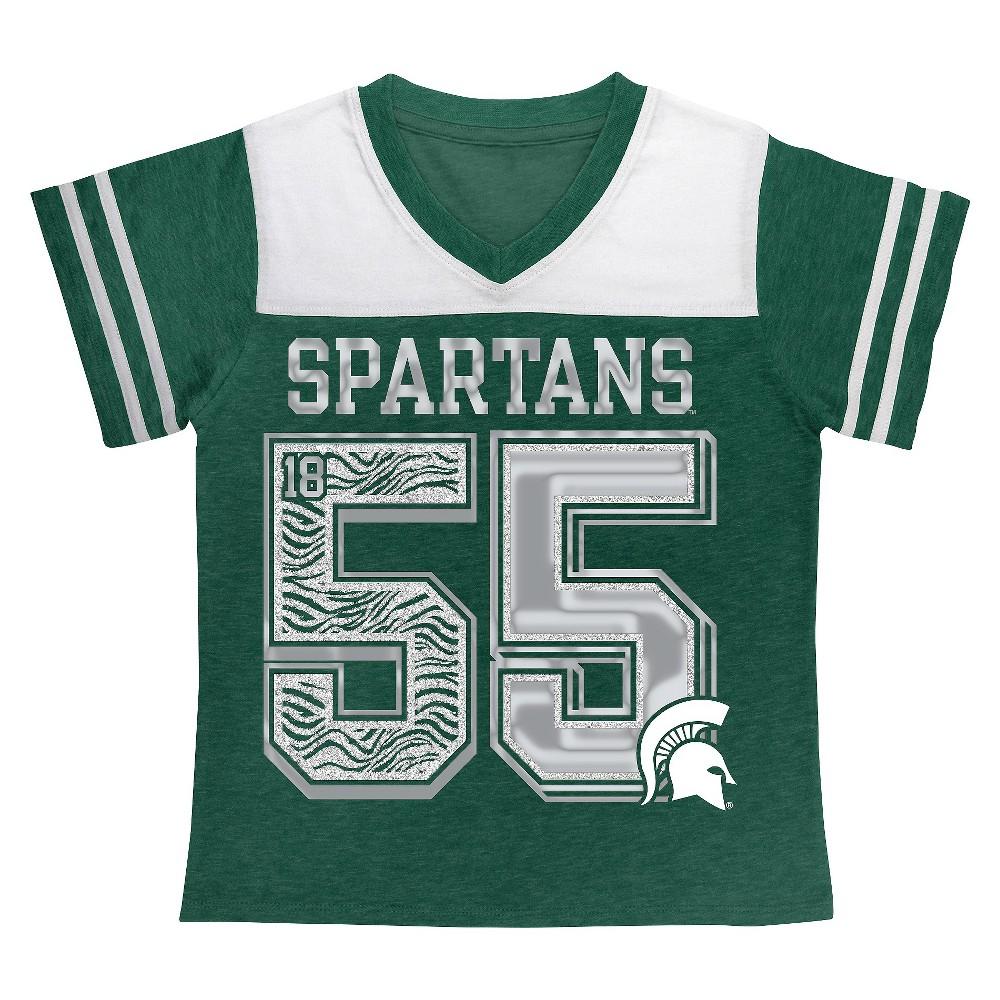 Michigan State Spartans Girls T Shirt