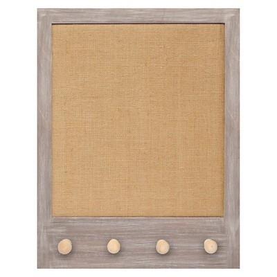 Framed Pin Board with Knobs 16x20""