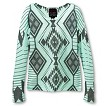 Girls' LS Fashion Hacci Tribal Printed Top