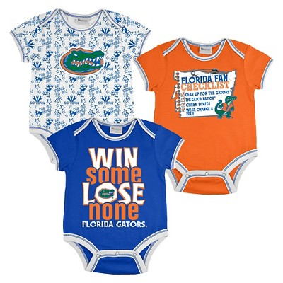 Florida Gators Boys Body Suit 0-3M