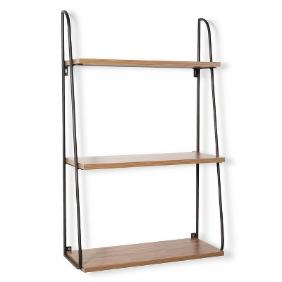Threshold™ 3 Tier Wood Wall Shelf