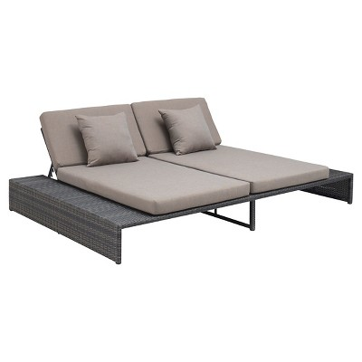 Ecom Patio Loveseat Zuo 29in