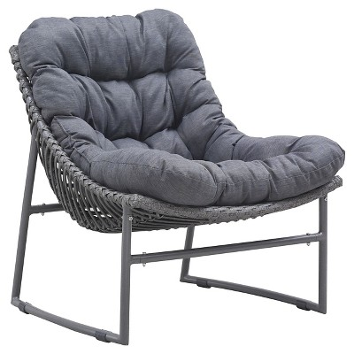 Ecom Patio Club Chair Zuo 15in