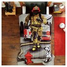 Dream Big® Fire Fighter Mini Comforter Set - Red (Twin)