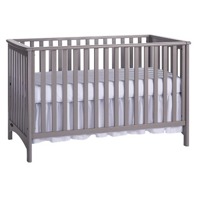 London 3-in-1 Convertible Crib - Cool Gray