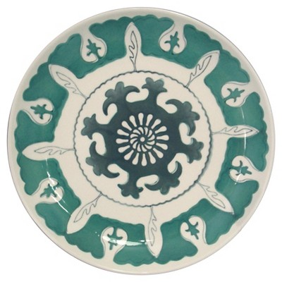 Threshold™ Aqua Medallion Salad Plate Set of 4 - Green