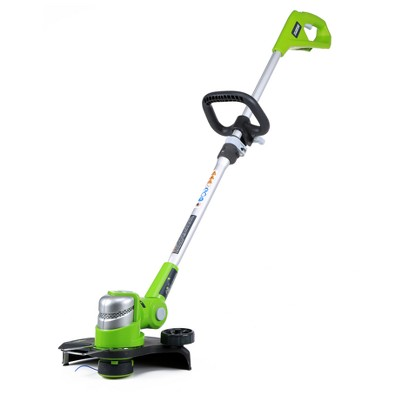 Greenworks G-24 24V 12  Cordless String Trimmer w/2ah battery & charger
