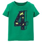 Just One You™Made by Carter's® Toddler Boys' Number 4 Tee - Green 4T