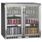 Kingsbottle Dual Mini Bar Refrigerator - Stainless Steel KBU-56-SS