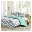 Darcy 5 Piece Duvet Cover Set - Teal ( Full/Queen)