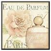 Art.com - Fleurs and Parfum II by Daphne Brissonnet - Mounted Print