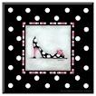 Art.com - High Heel Shoe I by Kathy Middlebrook - Mounted Print