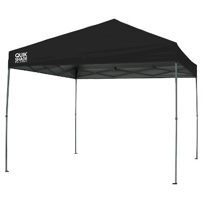 Quik Shade Expedition EX100 10x10 Straight Leg Canopy - Black